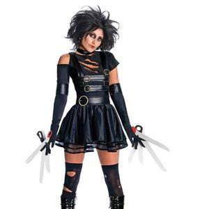 NEW Miss Scissorhands Adult Halloween Costume S
